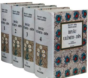 İhyau Ulumiddin   4 Cilt Takım - Bedir Yayınları